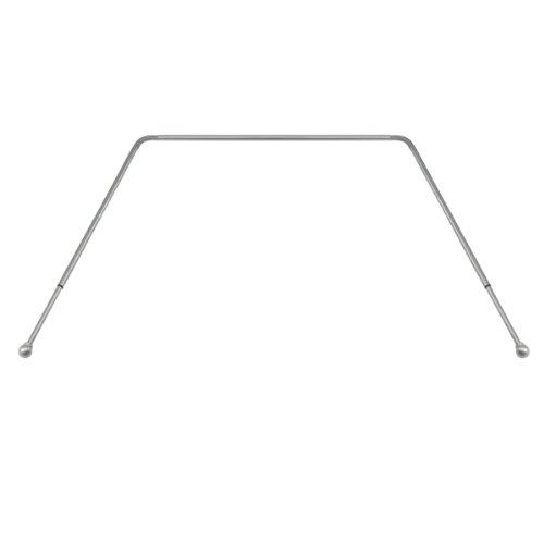 Umbra Bayview Drapery Rod For Window, Nickel