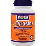 Now Foods L-tyrosine, 120 Capsules 500mg / (Pack
