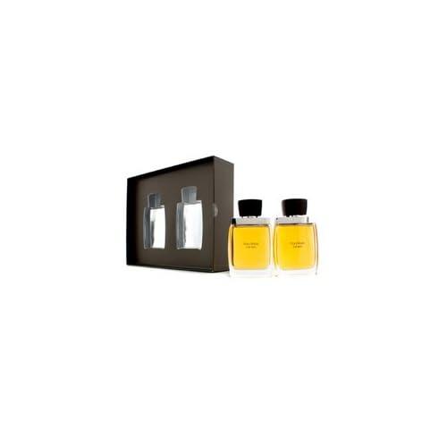 <strong>Vera Wang by Vera Wang for Men 2 Piece Set Includes: 3.4 oz Eau de Toilette Spray + 3.4 oz After Shave Pour (Glass...
