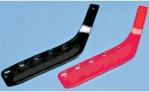 Fire Orange Over-the-Shaft Replacement Hockey Blades (Case of 18) by Cosom Cramer