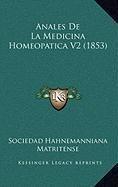 Anales de La Medicina Homeopatica V2 (1853)