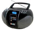 Jensen JISS-115 Portable CD Boombox with iPod  Dock
