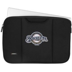 MLB Milwaukee Brewers Neoprene Sleeve for 15 to 16-Inch Laptop
