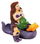Mermaid Bath Family 4 Piece Bath Toy - Colors May Vary