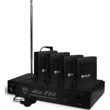 Nady Ald-800 4-Person Multi Channel Rf Assistive Listening System 75.5 Mhz-By-Nady