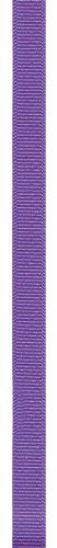 Offray Grosgrain Craft Ribbon, 7/8-Inch Wide by 100-Yard Spool, Bright Purple