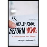 img - for Health Care Reform Now! A Prescription for Change (Hardcover, 2007) book / textbook / text book