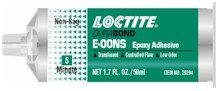 Loctite 079340-29294-CQ E-00NS Hysol Epoxy Structural Adhesive, Non-Sag, 50mL Dual Cartridge, Translucent