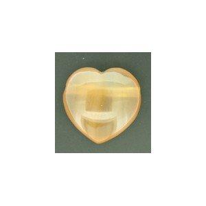 Carnealian Drilled Gem Heart [Jewellery]