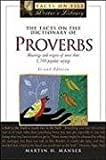 The Facts on File Dictionary of Proverbs (Facts on File Writer's Library)