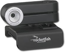 Rocketfish RF-WEB2C 8 MP Webcam