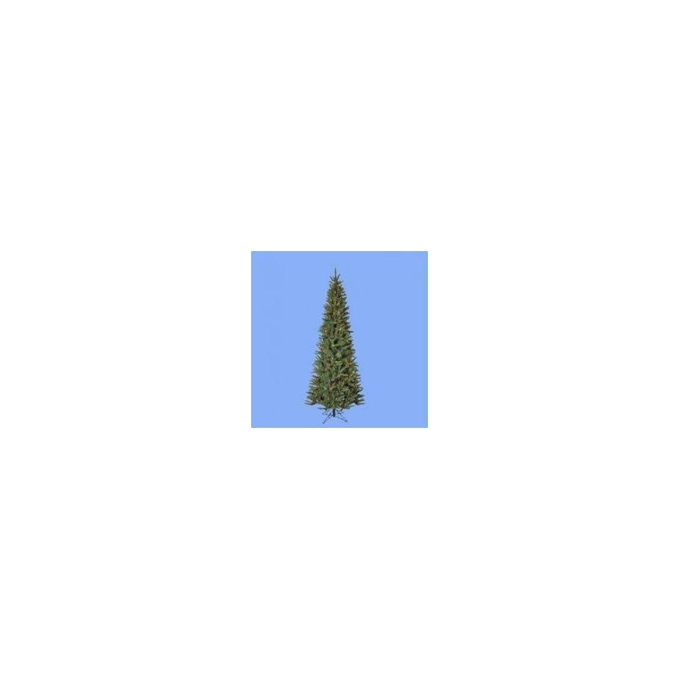6 Pre Lit Moni Fir Artificial Christmas Tree   Multicolor Lights