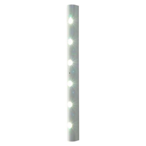 New Home Lighting Motion Activated Sensor 6 Led Strip Light W Adhesive Back