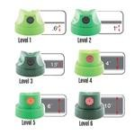 Montana 6 Green Cap Set (Spray Paint Can Set compare prices)