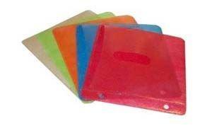 25 Kunststoff CD-Hüllen - farbigfür insgesamt 50 CD's 2 pro Hülle gelocht für Rinbucharchivierung