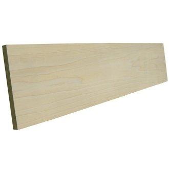 Primed Poplar Stair Riser - 60 in. x 7.25 x 3/4 in. Riser