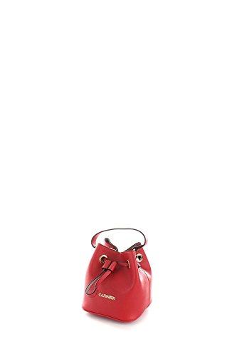Cafè Noir BF001 Borse a mano Borse e Accessori Eco-pelle Rosso Rosso TU