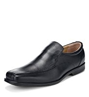 Airflex™ Leather Tramline Slip-On Shoes