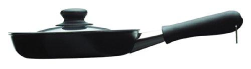 Sori Yanagi 121511080010 iron skillet with lid - 18cm fiber processing line]
