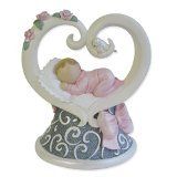"Gund Baby Legacy of Love Figurine, Pink, 3.875"" - 1"