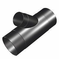 """4"""" to 2-1/2"""" - Y - DUST COLLECTION HOSE FITTING By Peachtree Woodworking - PW416"""