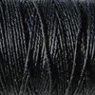 Crawford Irish Linen Thread- Black 4 Cord (10 yards)