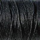 Crawford Irish Linen Thread- Black 3 Cord (10 yards)