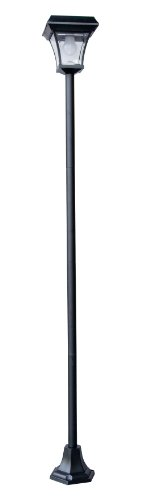 Tricod Pl2200 Solar Lamp Post Generation 4 Super Bright Led Light, Medium