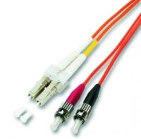 M-Cab LWL Duplex Jumper Patch-Kabel (LC-ST) 7,5m