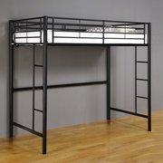 Black Metal Bunk Beds 1293 front