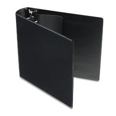 Samsill DXL/Contour Cover 2-Inch Ergonomic View Binder, Black (17760)