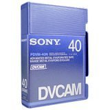 Sony PDVM-40N Mini DVCAM Metal Evaporated Component Digital Video Tapes Without IC Memory Chip