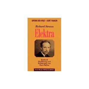Elektra: Textbuch. Einführung und Kommentar. (SP 8043)