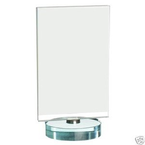 Gorgeous Glass Photograph Frame Double Sided Half