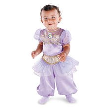 Disguise Baby Girl's Disney Aladdin Jasmine Costume, Purple, 12-18 Months image