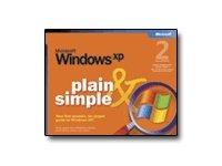 Microsoft Windows XP - Plain & Simple - reference book ( 0-7356-2112-8 )