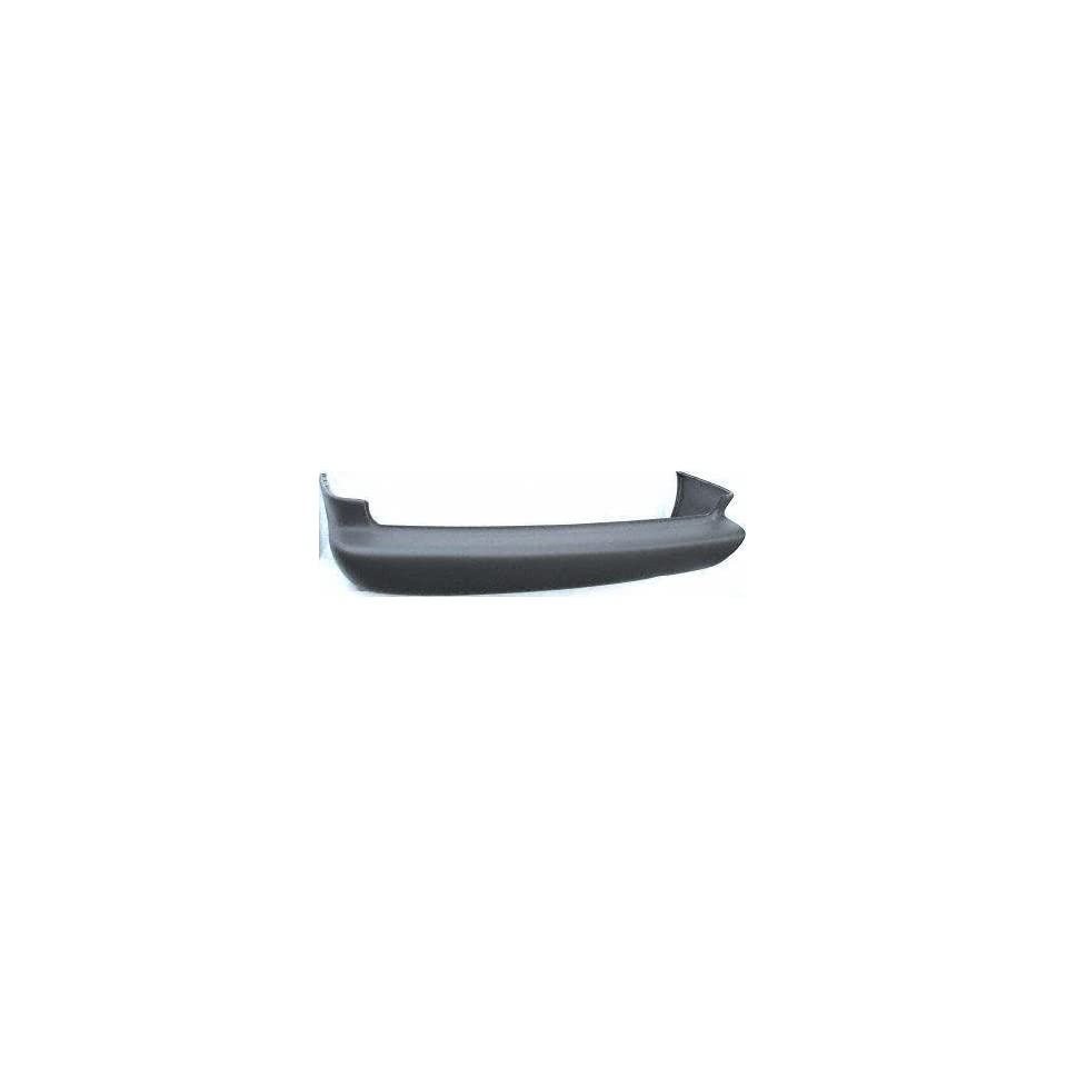 96 00 PLYMOUTH GRAND VOYAGER REAR BUMPER COVER VAN, SE/Base, (119WB) Textured Cool Gray (1996 96 1997 97 1998 98 1999 99 2000 00) D760107 GN05SS8
