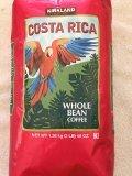 Kirkland Costa Rica Whole Bean Coffee Dark Roast 3lb (3 lbs)