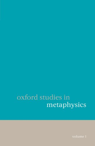 Oxford Studies in Metaphysics: Volume 1