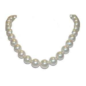 South Sea Pearl Necklace - 1554 - White