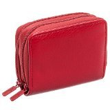 Buxton Womens RFID Identity Safe Card Wizard Wallet (Red)