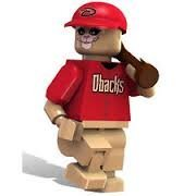 Baxter The Bobcat Mascot OYO MLB Arizona Diamondbacks G4 Series 2 Mini Figure Limited Edition