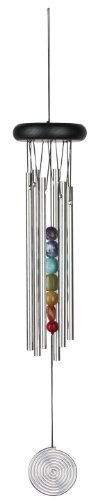 Woodstock Signature Collection 17-1/2-Inch Chakra Chime, Seven Stones
