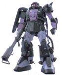 Gundam MS-06R Zaku II Black Trinity MG 1/100 Scale