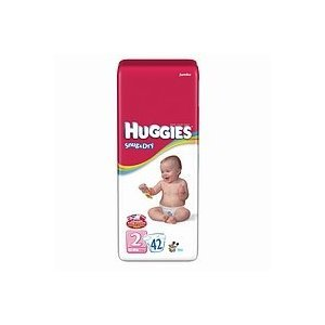Huggies Snug & Dry Diapers Size 2 (Pack of 4)