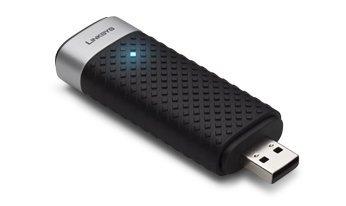 Linksys AE3000 Carte Réseau et Adaptateurs USB, Compatible Norme Wifi 802.11a, Compatible Norme Wifi 802.11b, Compatible Norme Wifi 802.11g, Mimo