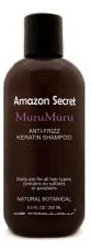 Amazon Series MuruMuru Anti-Frizz Keratin Shampoo (luxurious rich lather for normal to dry hair) Sulfate Free (33.8 fl oz)