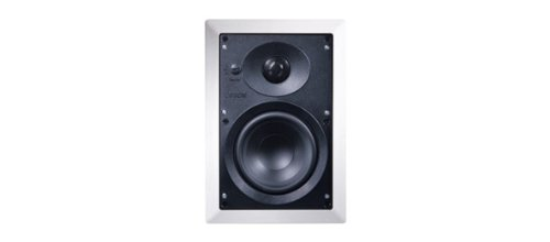 Canton InWall 500 2-Wege Free Air Einbaulautsprecher (50/100 Watt, 86 dB) Paar weiß
