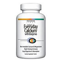 Everyday Calcium with Enzyme, 240 tab ( Multi-Pack)