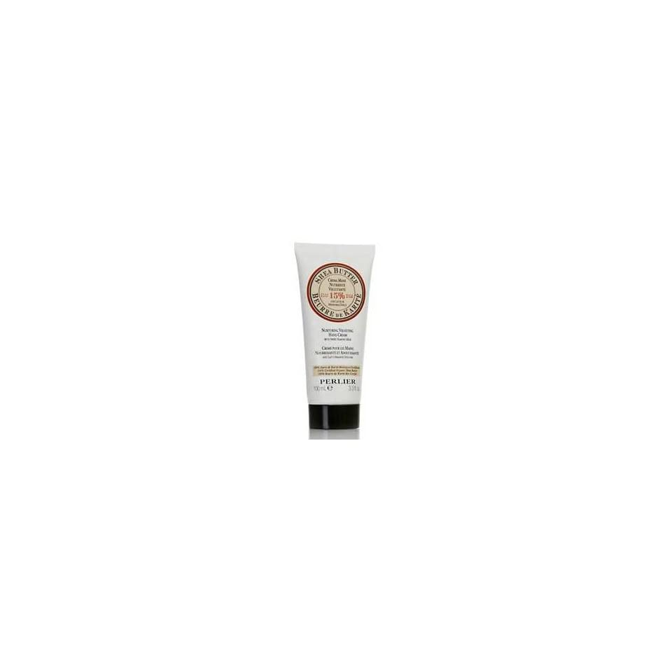 Perlier 3.3 Fl. Oz. Shea Butter Hand Cream with Vanilla Extract